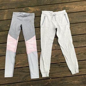 Athleta Bottoms - 2 Athleta Girl Pants Leggings & Jogger Sz 8 10